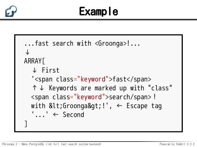 PGroonga 2 – Make PostgreSQL rich full text search system
